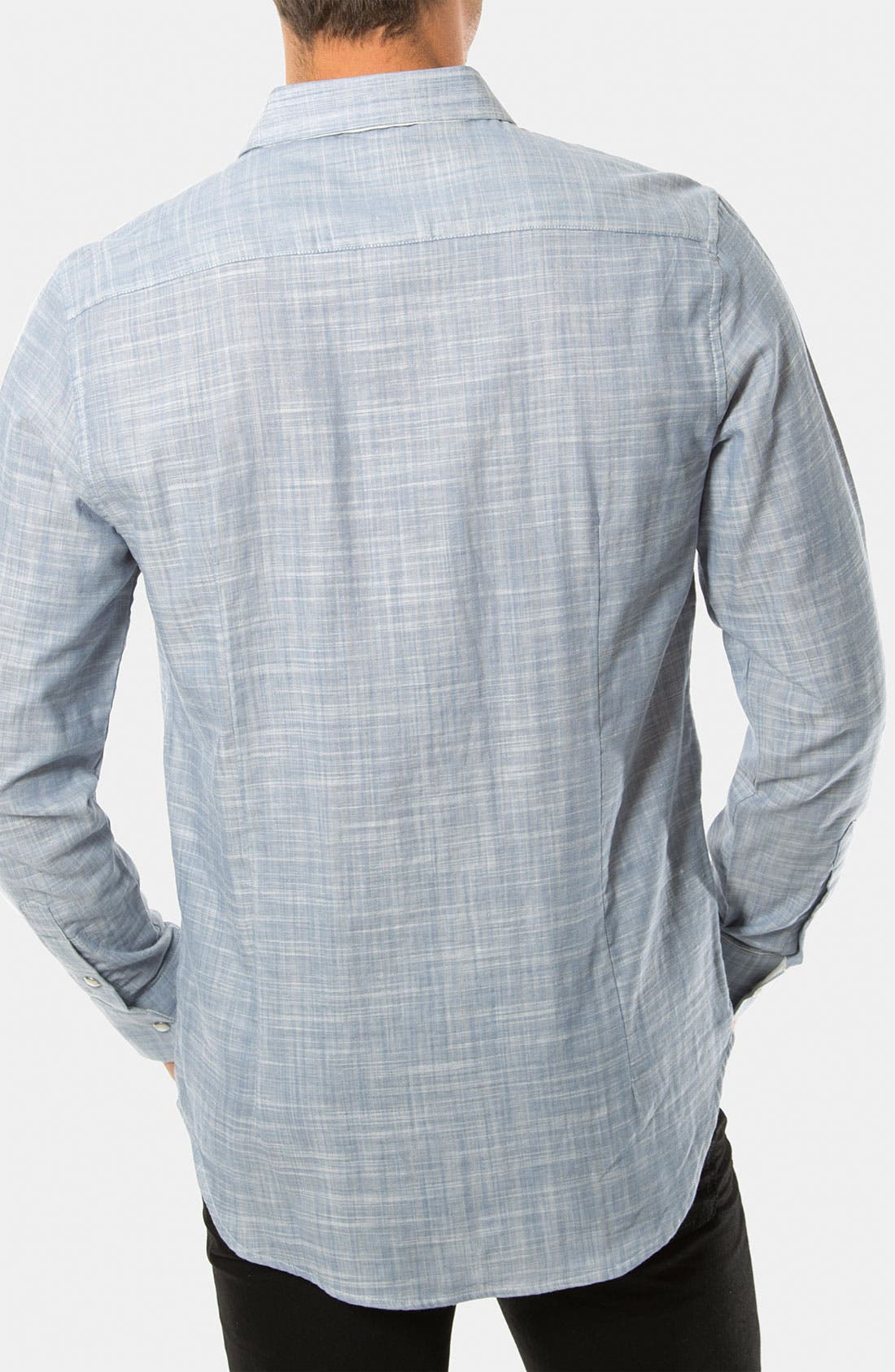 Alternate Image 2  - 7 Diamonds 'The Movement' Woven Sport Shirt