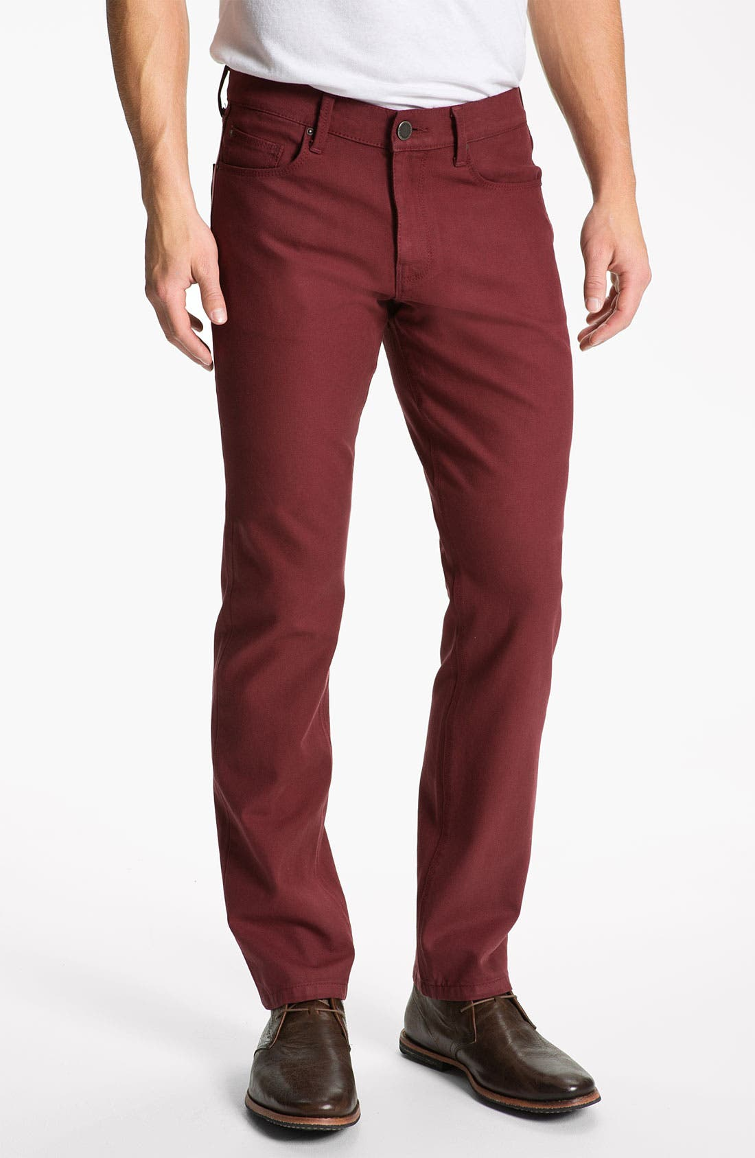 Main Image - DL1961 'Russell' Slim Straight Jeans (Firebird)
