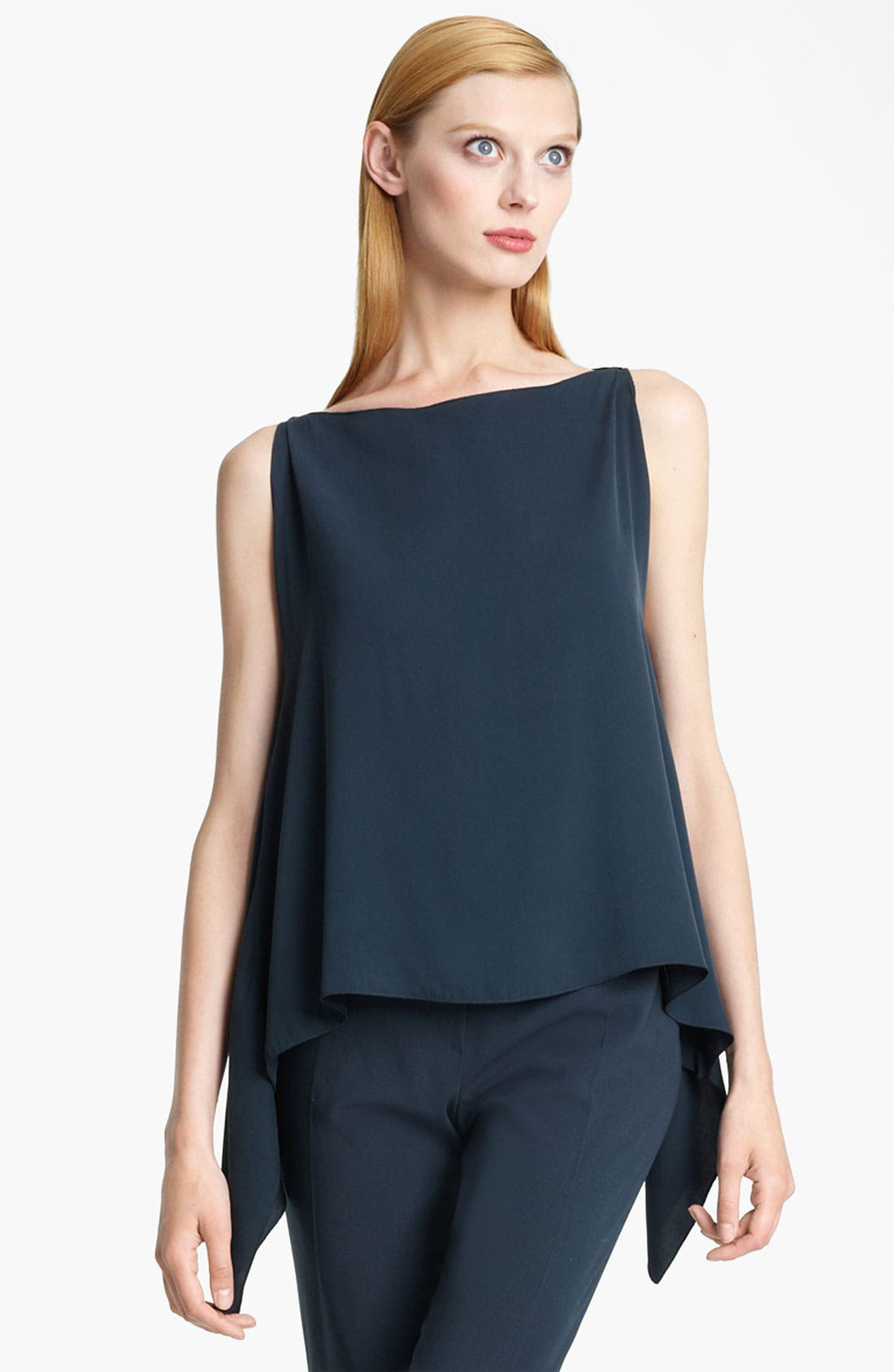 Alternate Image 1 Selected - Armani Collezioni 'Fly Away' Silk Blouse