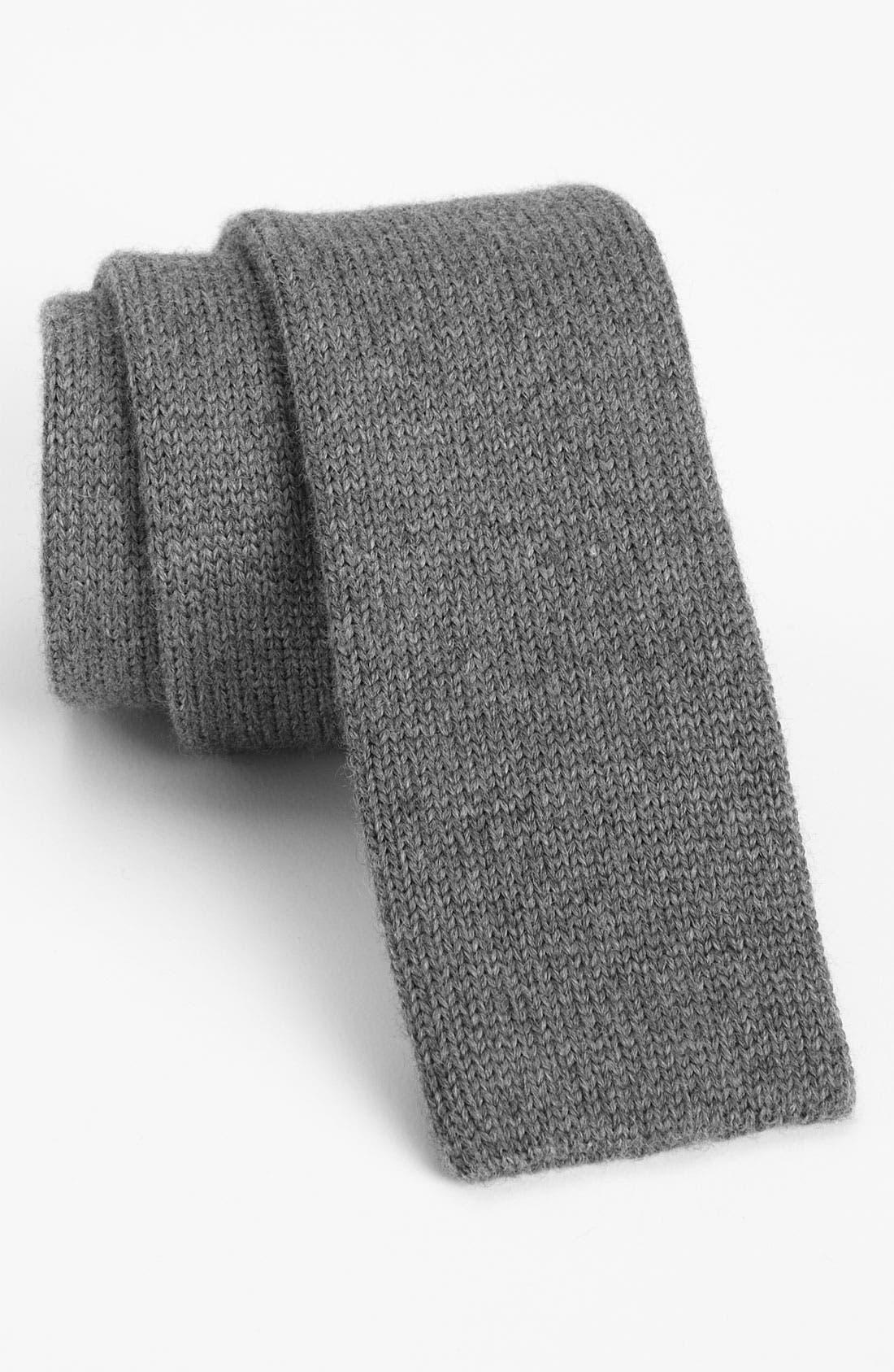Alternate Image 1 Selected - BOSS Black Knit Tie