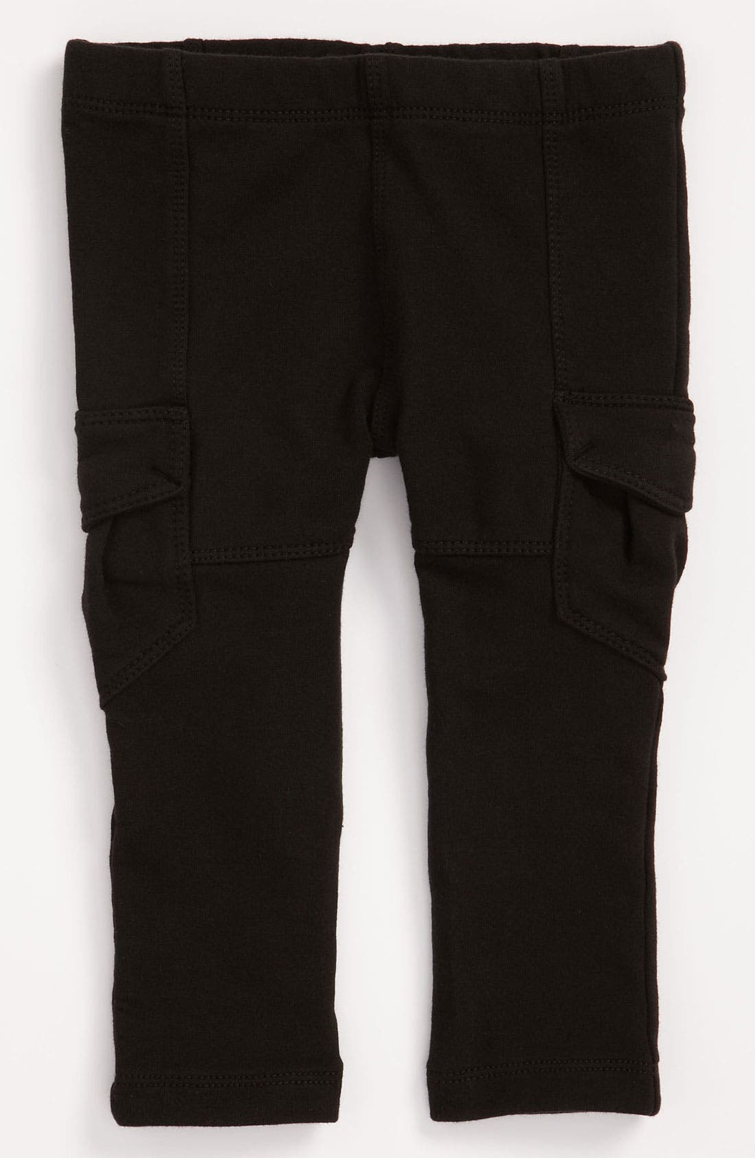 Main Image - Tea Collection Skinny French Terry Cargo Pants (Toddler)