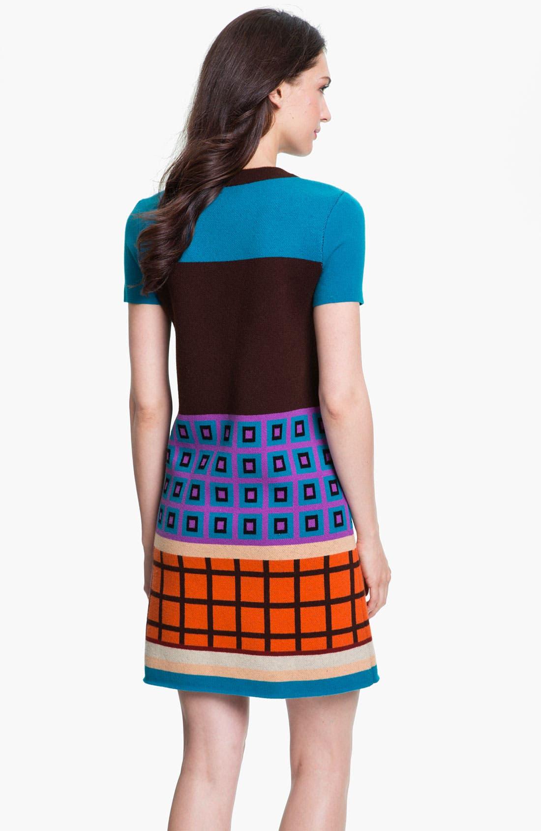 Alternate Image 2  - kate spade new york 'freyda' wool blend sweater shift dress