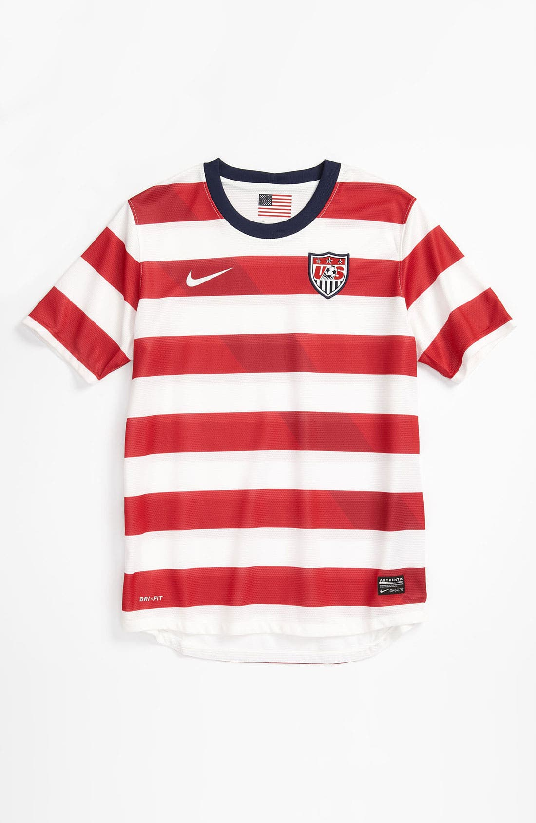 Alternate Image 1 Selected - Nike 'USA Home' Dri-FIT Jersey (Big Boys)