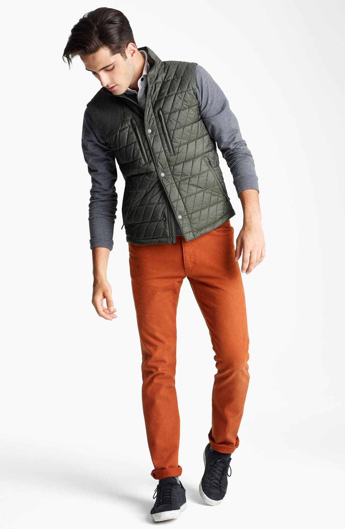 Alternate Image 4  - Zegna Sport 'Eco-Warmer' Quilted Thermal Vest