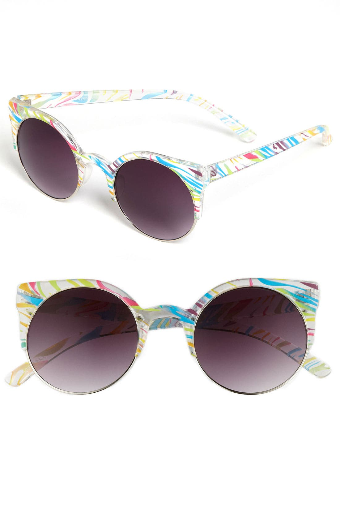 Alternate Image 1 Selected - Quay Retro Sunglasses