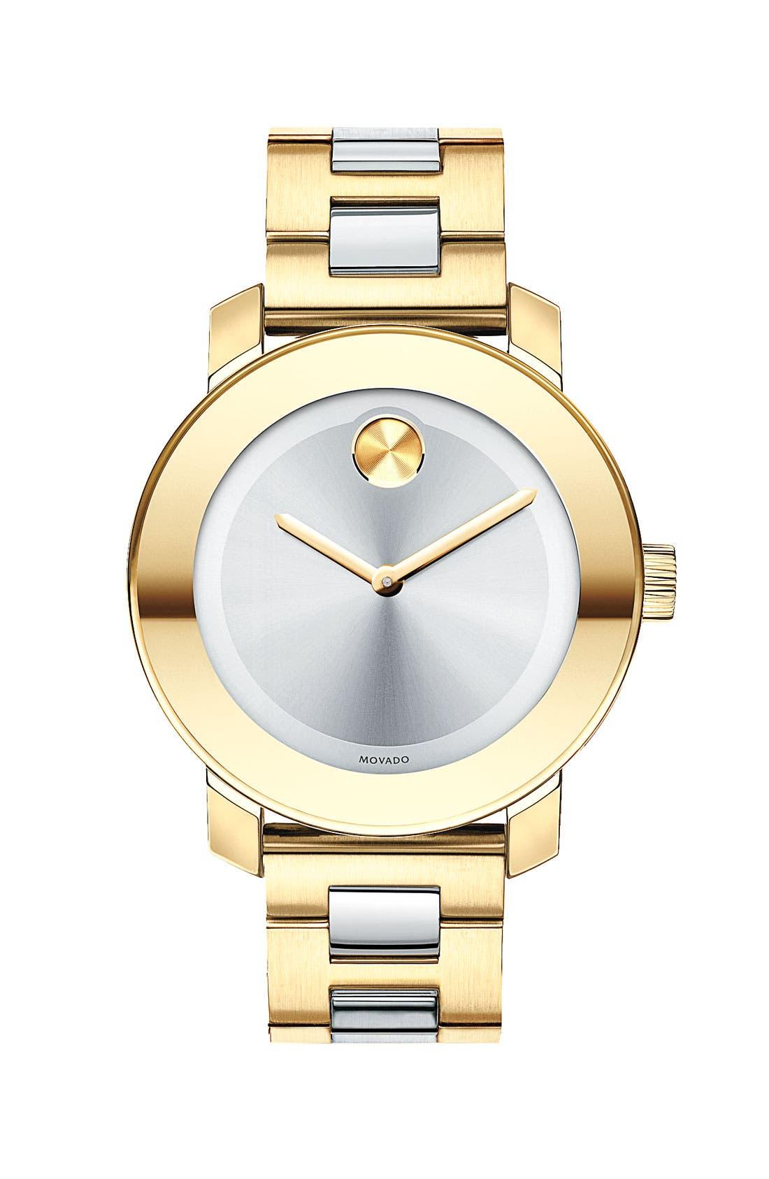 Alternate Image 1 Selected - Movado 'Bold' Round Bracelet Watch, 36mm