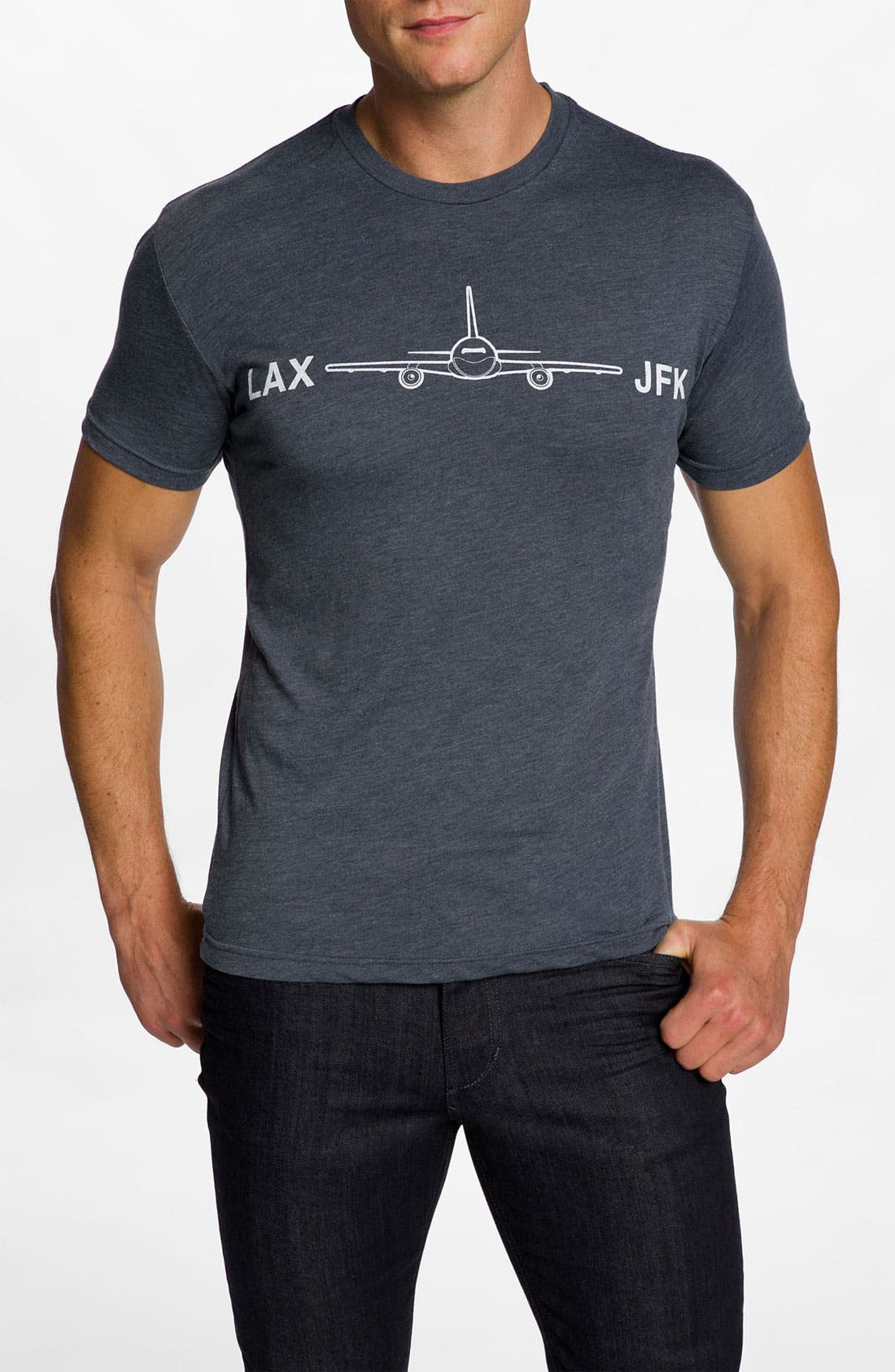 Main Image - DiLascia 'LAX - JFK' T-Shirt