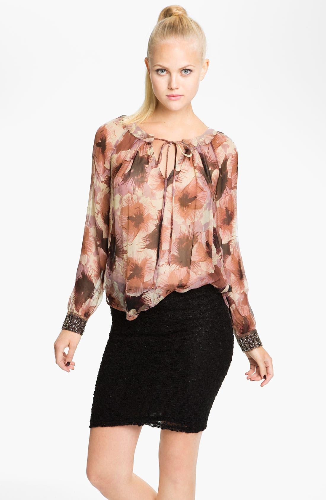 Main Image - Bellatrix Embellished Cuff Blouse