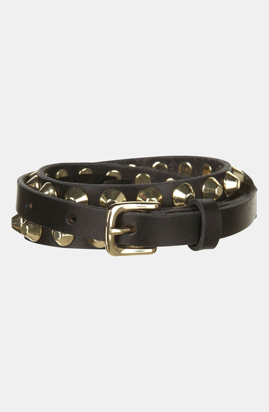 Alternate Image 2  - Topshop 'Studded Grunge' Belt