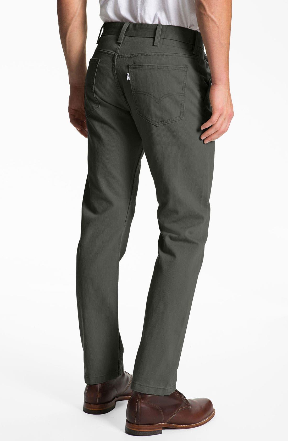 Alternate Image 2  - Levi's® '505 Bedford' Slim Straight Leg Pants