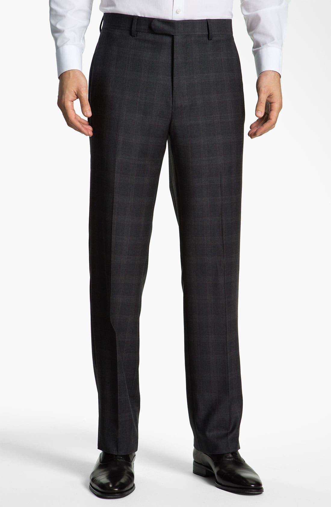 Alternate Image 4  - John Varvatos Star USA 'Bedford' Trim Fit Plaid Suit