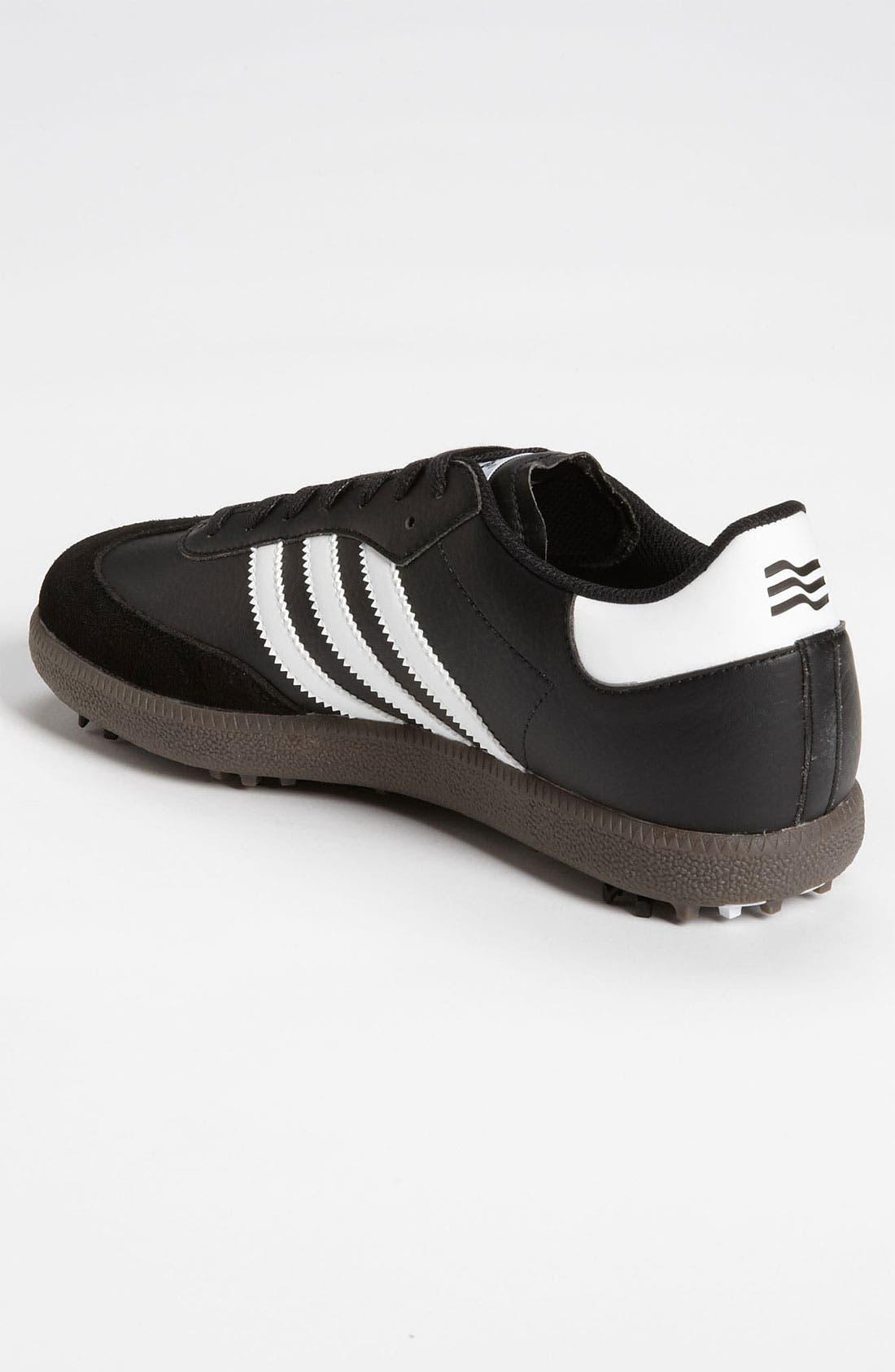 Alternate Image 2  - adidas TaylorMade 'Samba' Golf Shoe (Men) (Online Only)