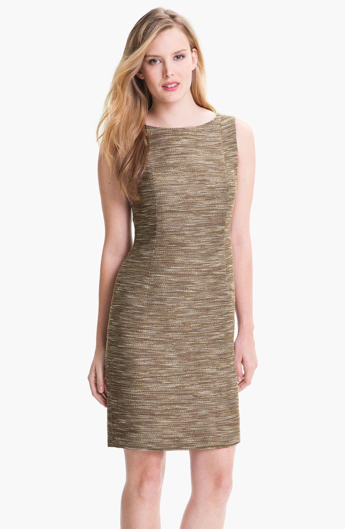 Main Image - Lafayette 148 New York 'Faith - Radiant Reed Cloth' Dress