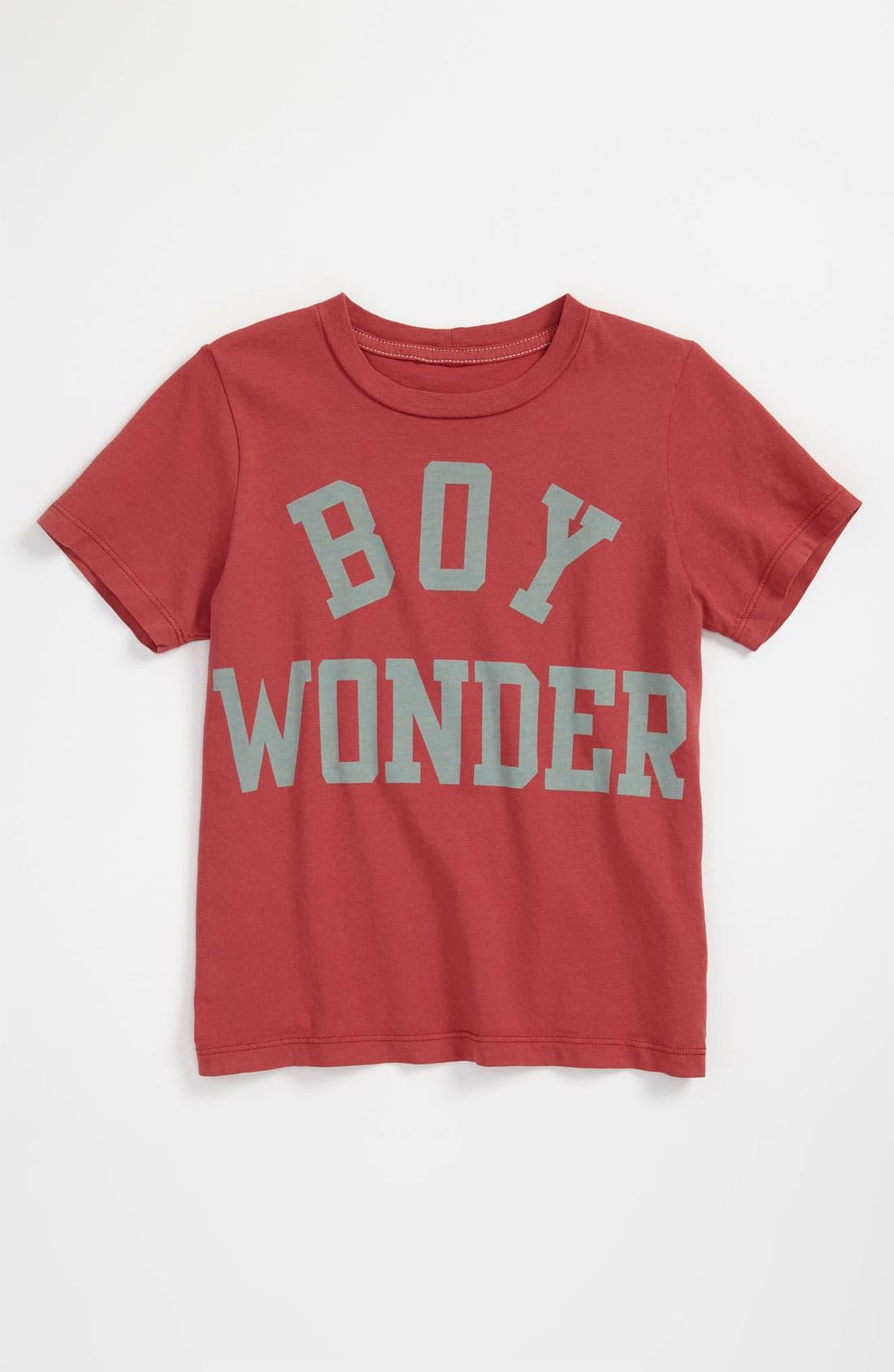 Alternate Image 1 Selected - Peek 'Boy Wonder' T-Shirt (Toddler, Little Boys & Big Boys)
