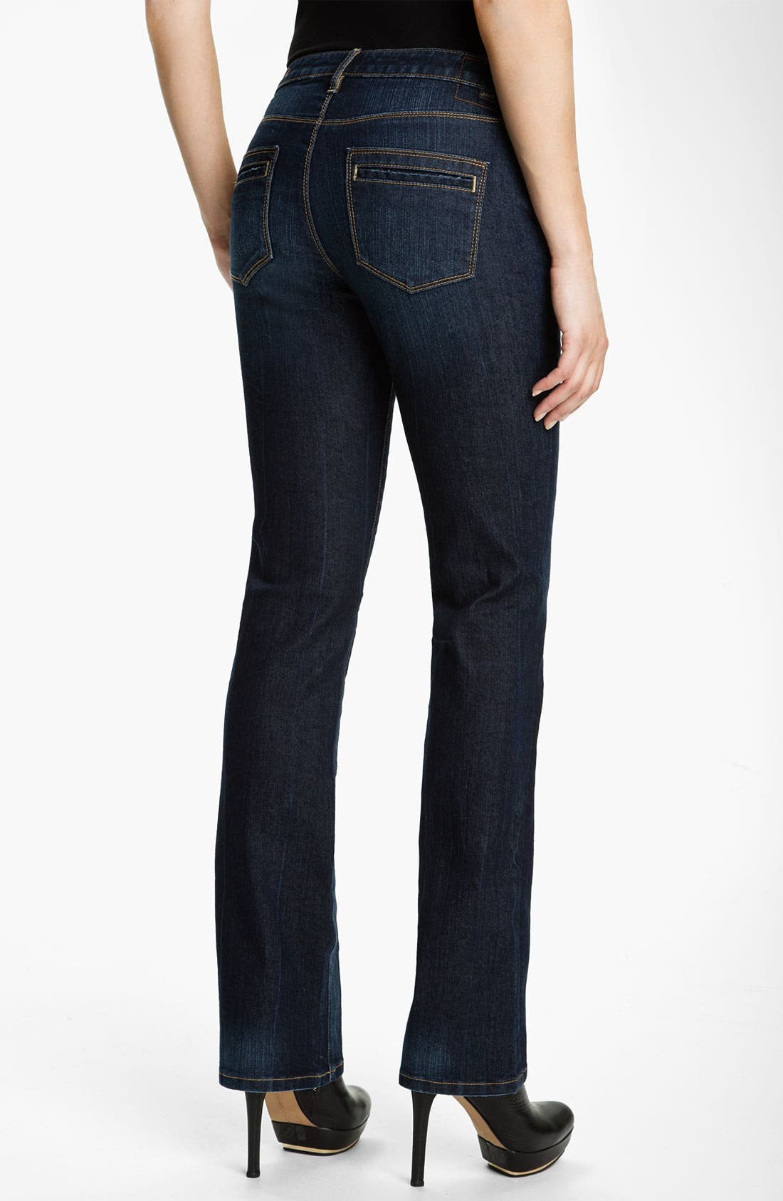 Alternate Image 2  - Jag Jeans 'Virginia' Bootcut Stretch Jeans (Roswell) (Petite)