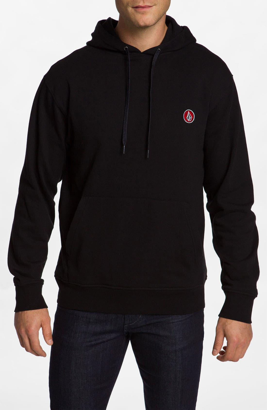 Alternate Image 1 Selected - Volcom 'Eds' Stripe Hoodie