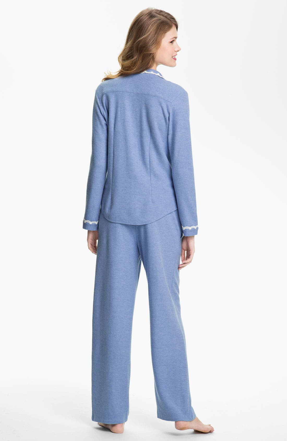 Alternate Image 2  - Eileen West 'Evening Star' Thermal Pajamas