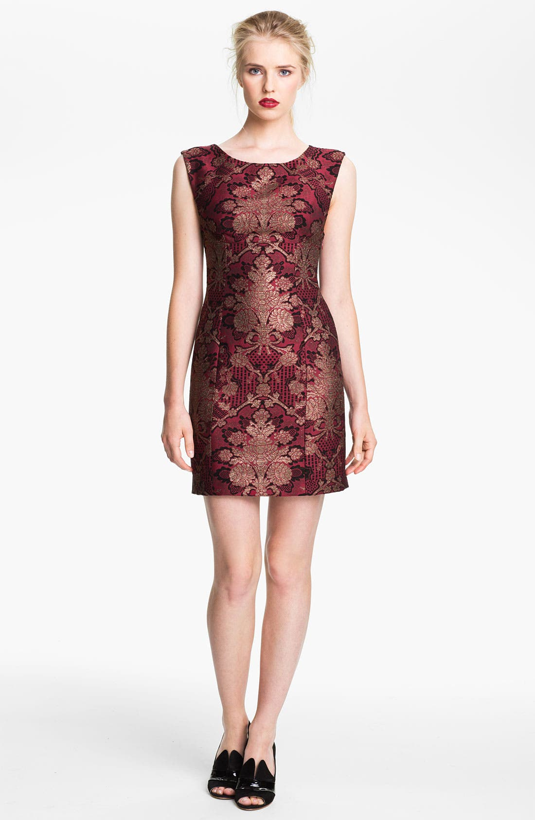 Alternate Image 1 Selected - Tracy Reese Brocade Sheath Dress