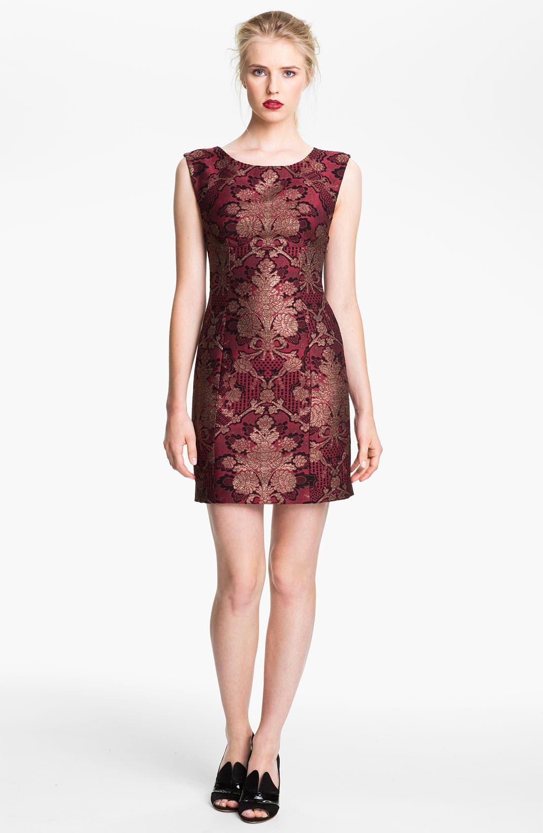 Alternate Image 1 Selected - Tracy Reese Brocade Sheath Dress