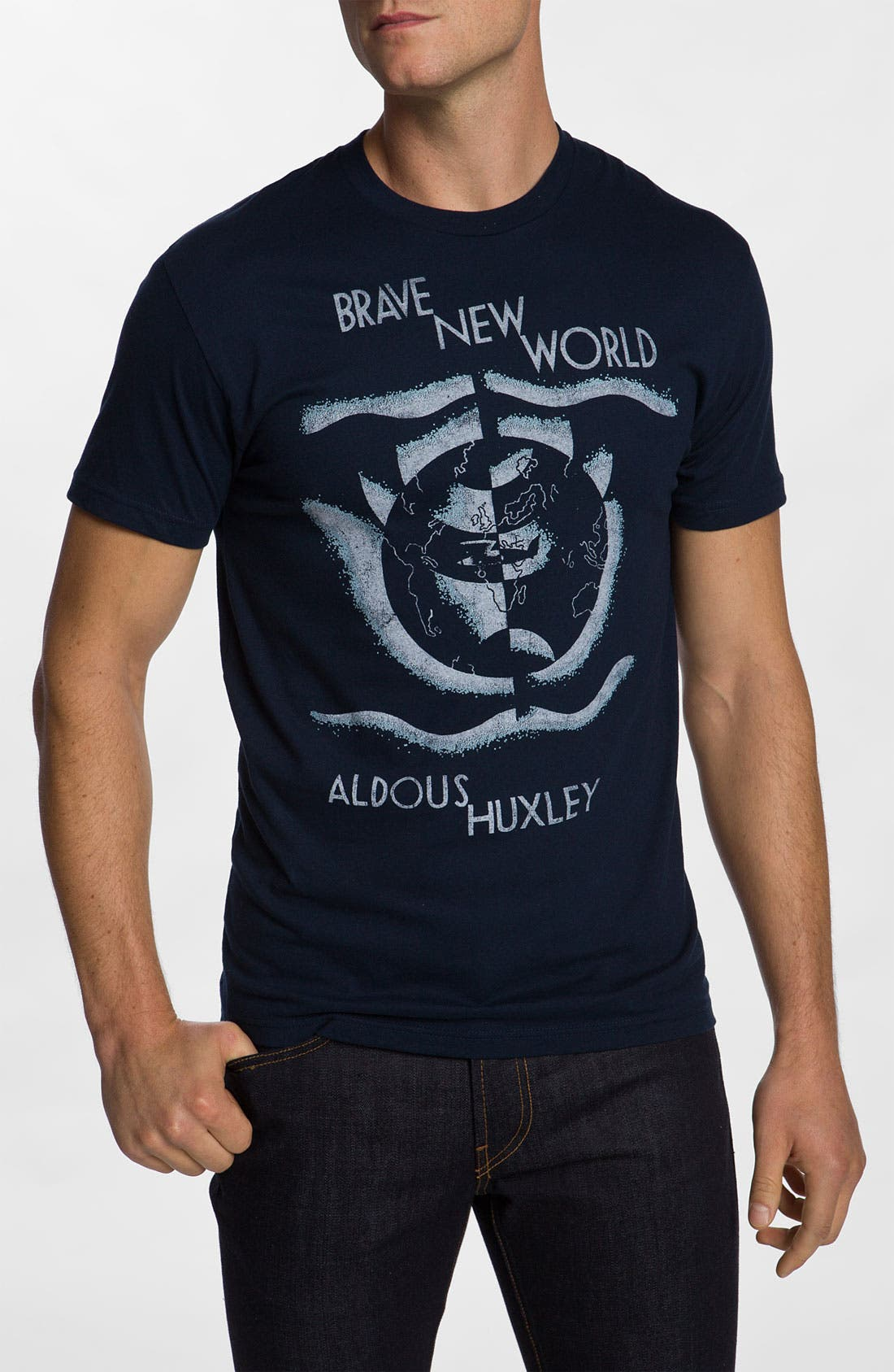 Alternate Image 1 Selected - Out of Print 'Brave New World' Graphic T-Shirt