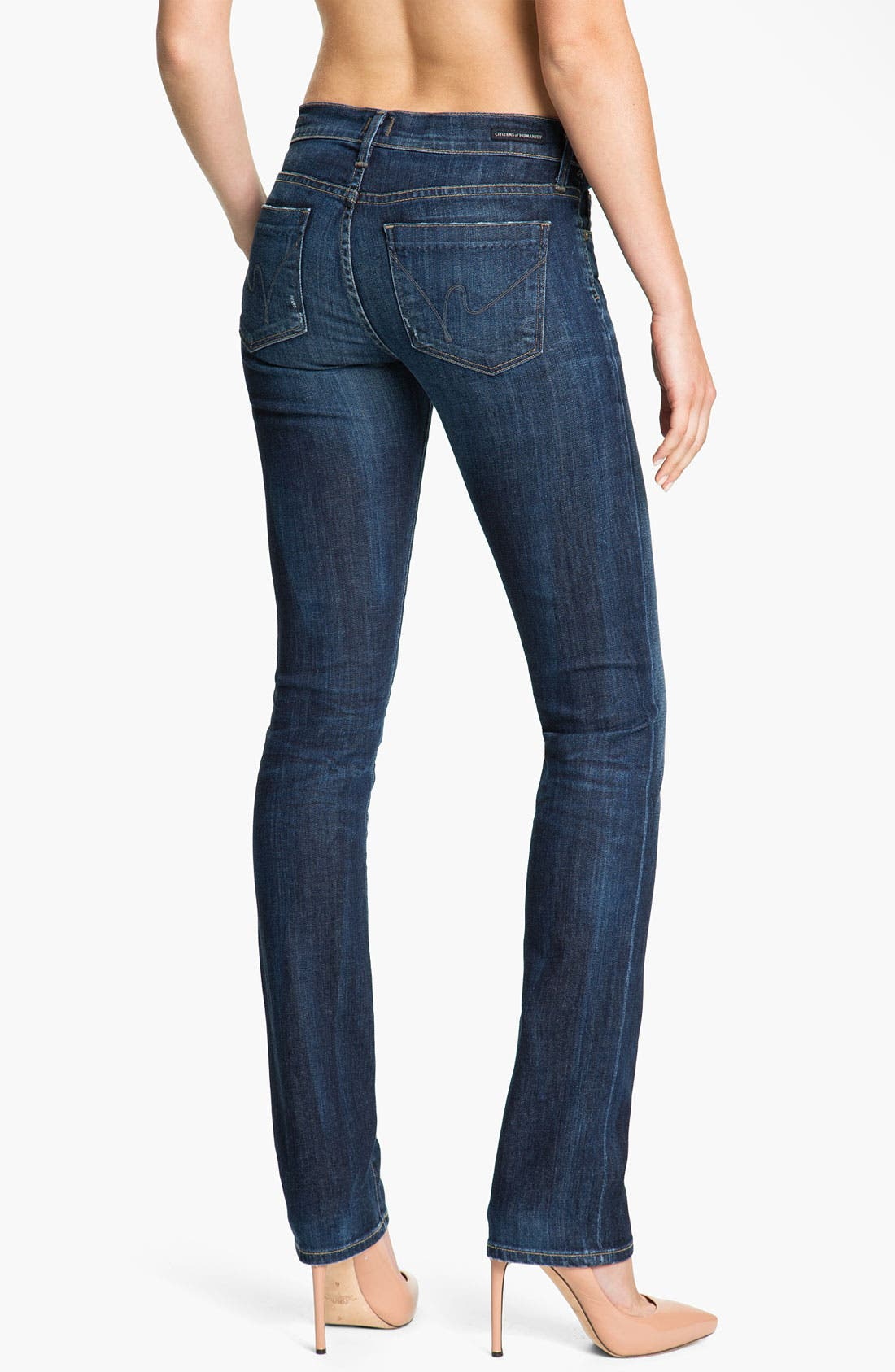 Alternate Image 2  - Citizens of Humanity 'Ava' Straight Leg Stretch Denim Jeans (New Spectrum)