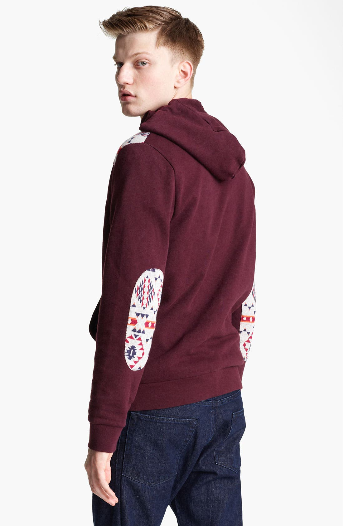Alternate Image 2  - Topman 'Fudge' Zip Hoodie