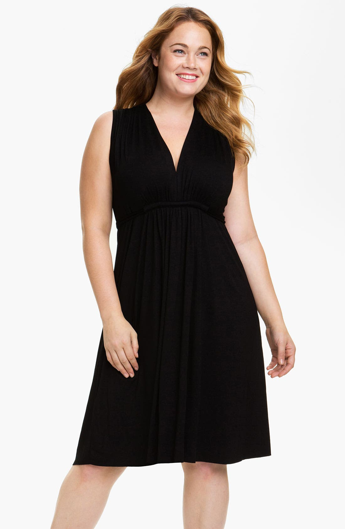 Alternate Image 1 Selected - Rachel Pally White Label Sleeveless Caftan Dress (Plus)