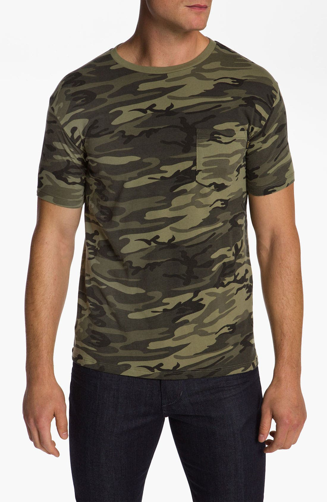 Alternate Image 1 Selected - Obey Camo Pocket T-Shirt