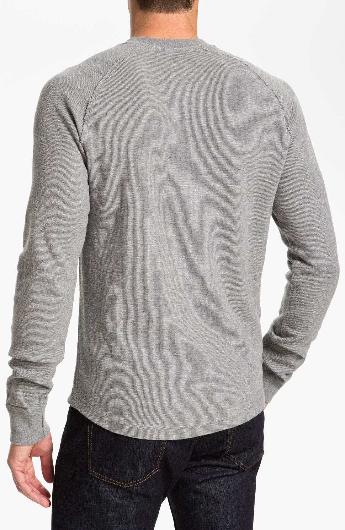 Alternate Image 2  - Original Penguin Thermal Cotton Henley