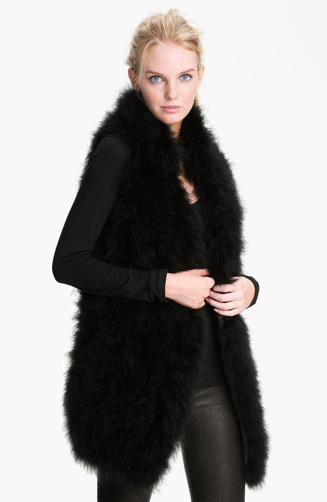 Alternate Image 1 Selected - Trina Turk Feather Vest