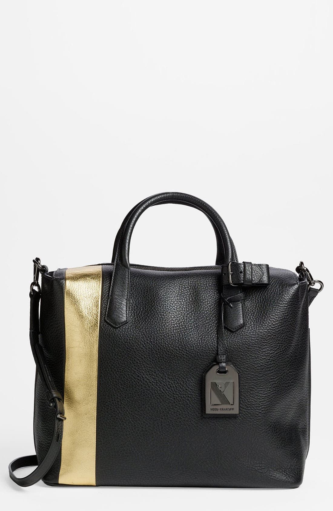 Main Image - Reed Krakoff 'Gym Bag' Leather Satchel