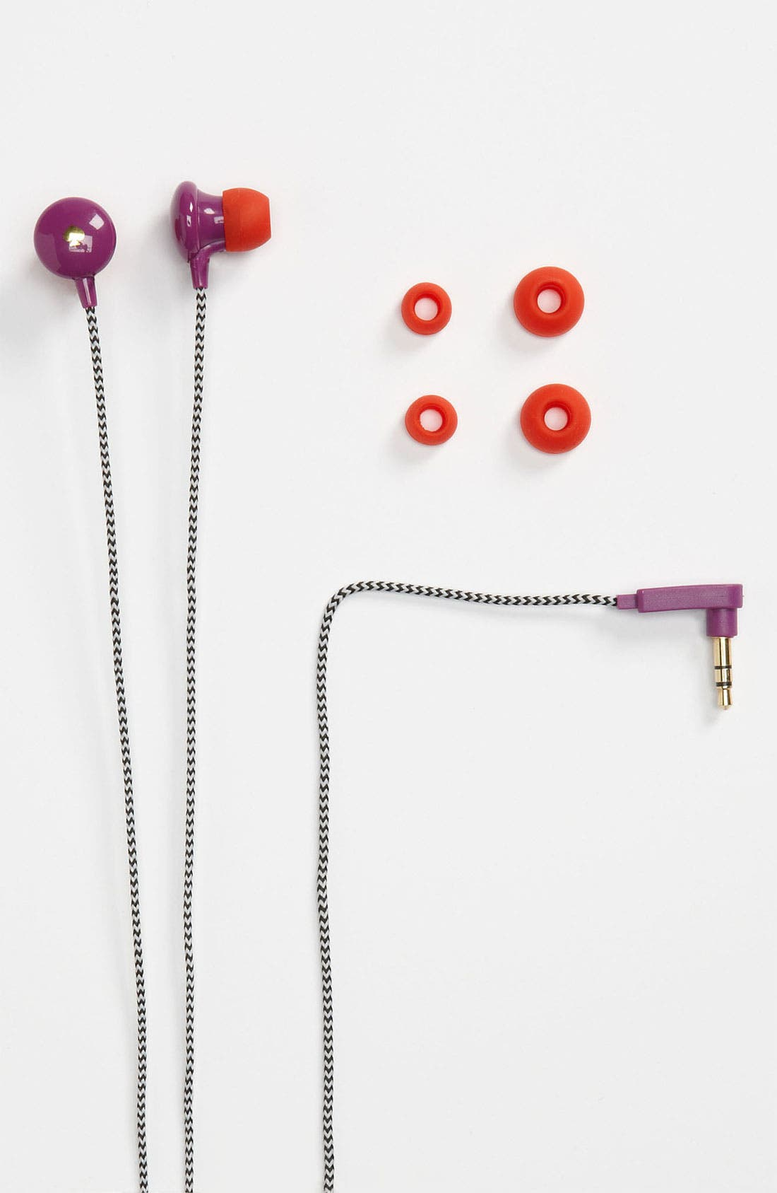 Alternate Image 1 Selected - kate spade new york 'signature spade' Earbuds