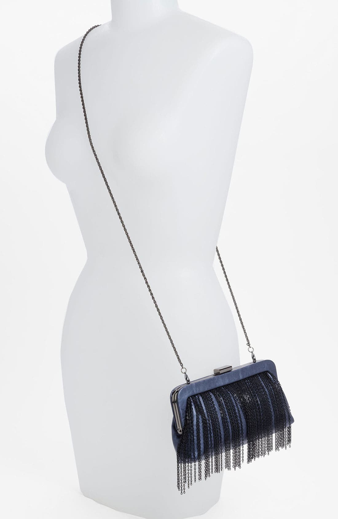 Alternate Image 2  - Big Buddha Fringe Clutch
