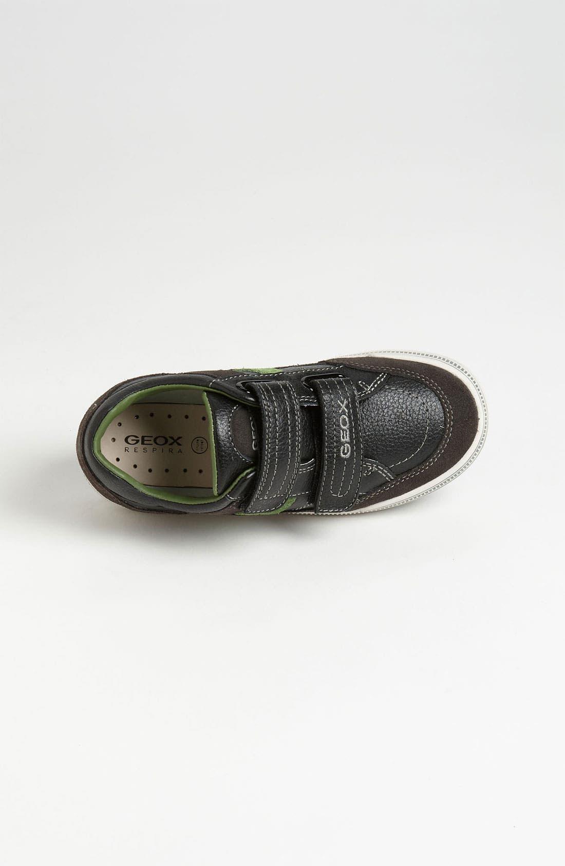 Alternate Image 3  - Geox Sneaker (Toddler, Little Kid & Big Kid)