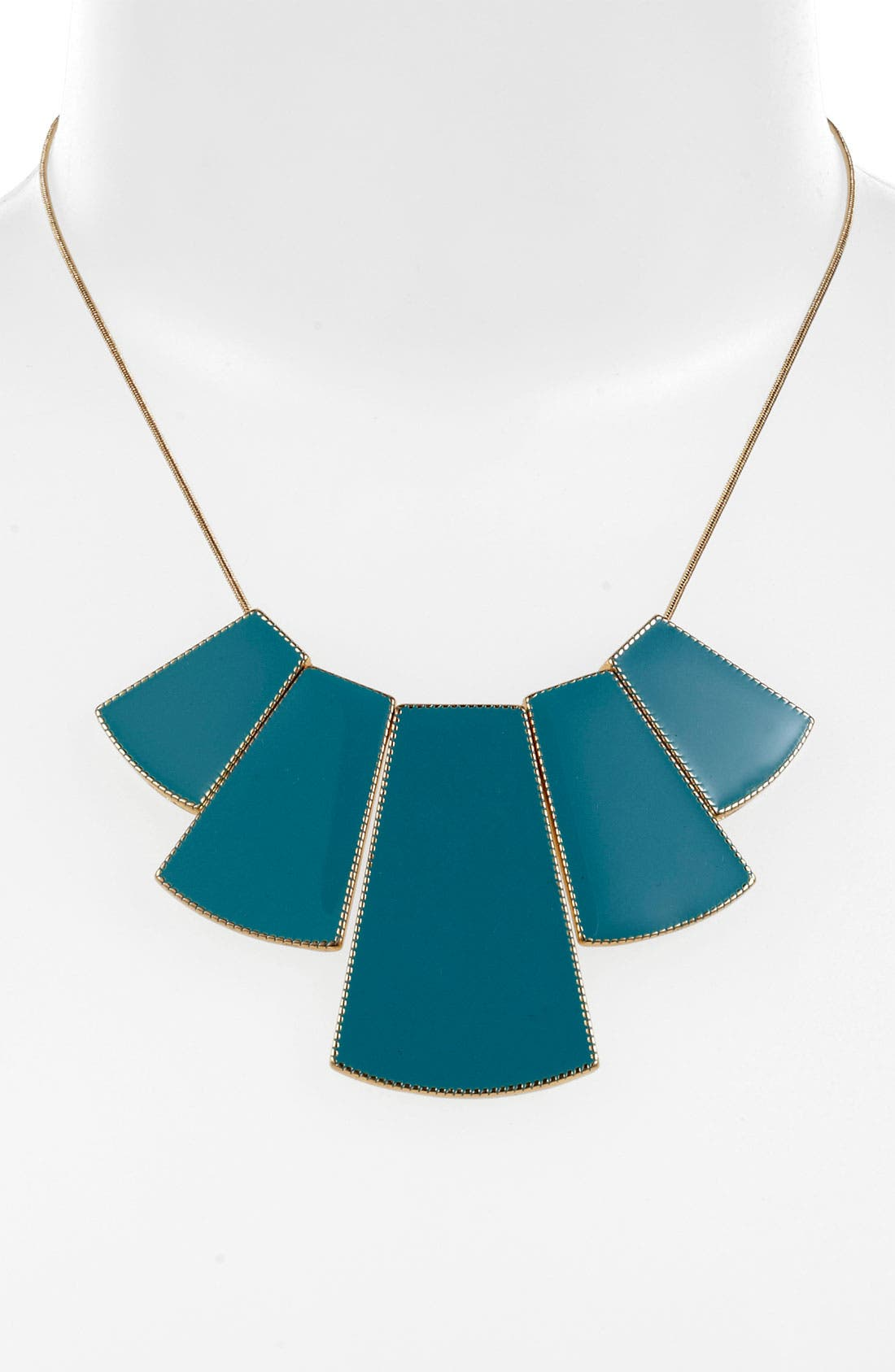 Main Image - Carole Enamel Bib Necklace