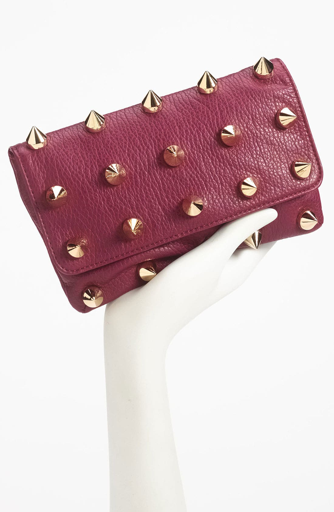 Alternate Image 2  - Deux Lux 'Empire' Faux Leather Clutch
