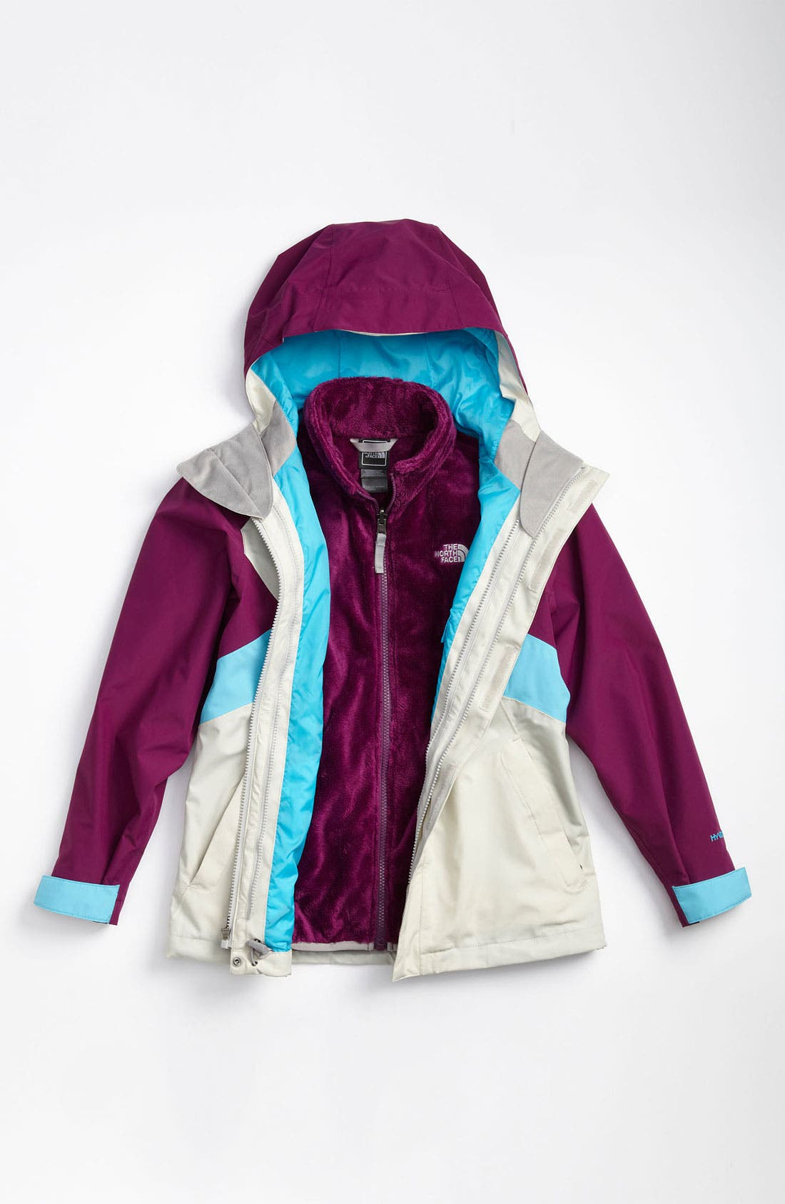Alternate Image 2  - The North Face 'Fallon' TriClimate® 3-in-1 Jacket (Big Girls)