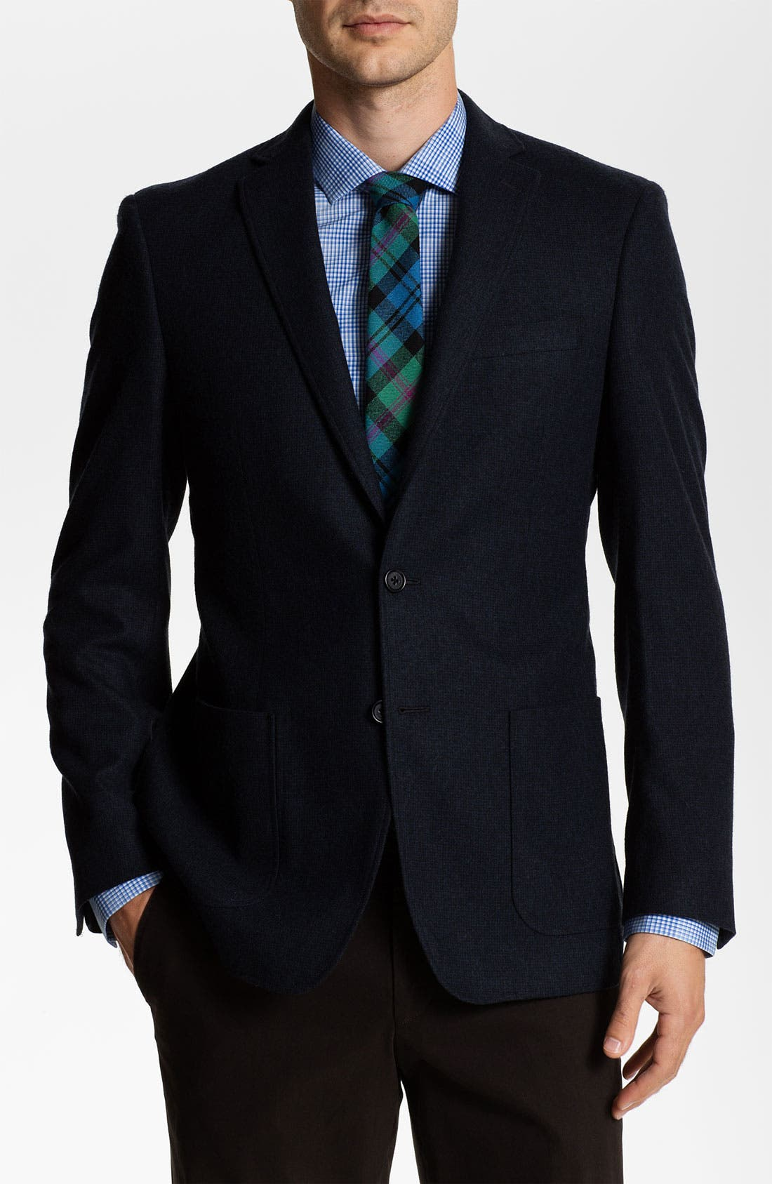 Alternate Image 1 Selected - John Varvatos Star USA 'Fagan' Trim Fit Blazer