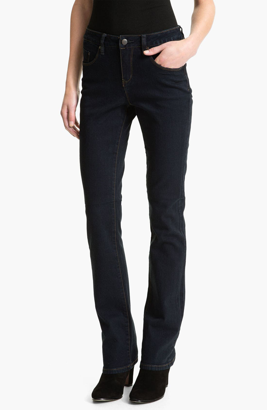 Alternate Image 1 Selected - Jag Jeans 'Foster' Narrow Bootcut Jeans (Petite)