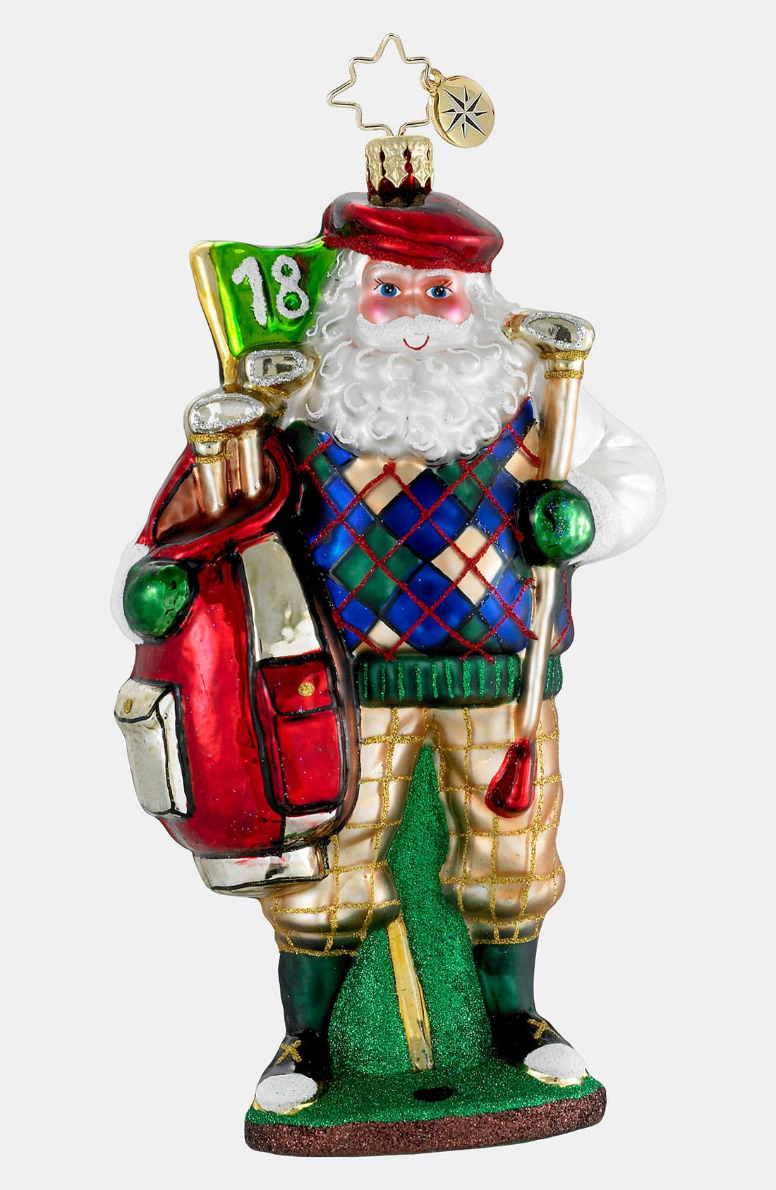 Alternate Image 1 Selected - Christopher Radko 'Fore! The Holidays' Ornament