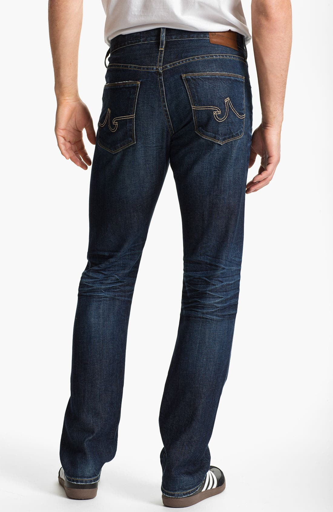 Alternate Image 2  - AG 'Geffen Easy Slim' Straight Leg Jeans (7 Year Lounge)