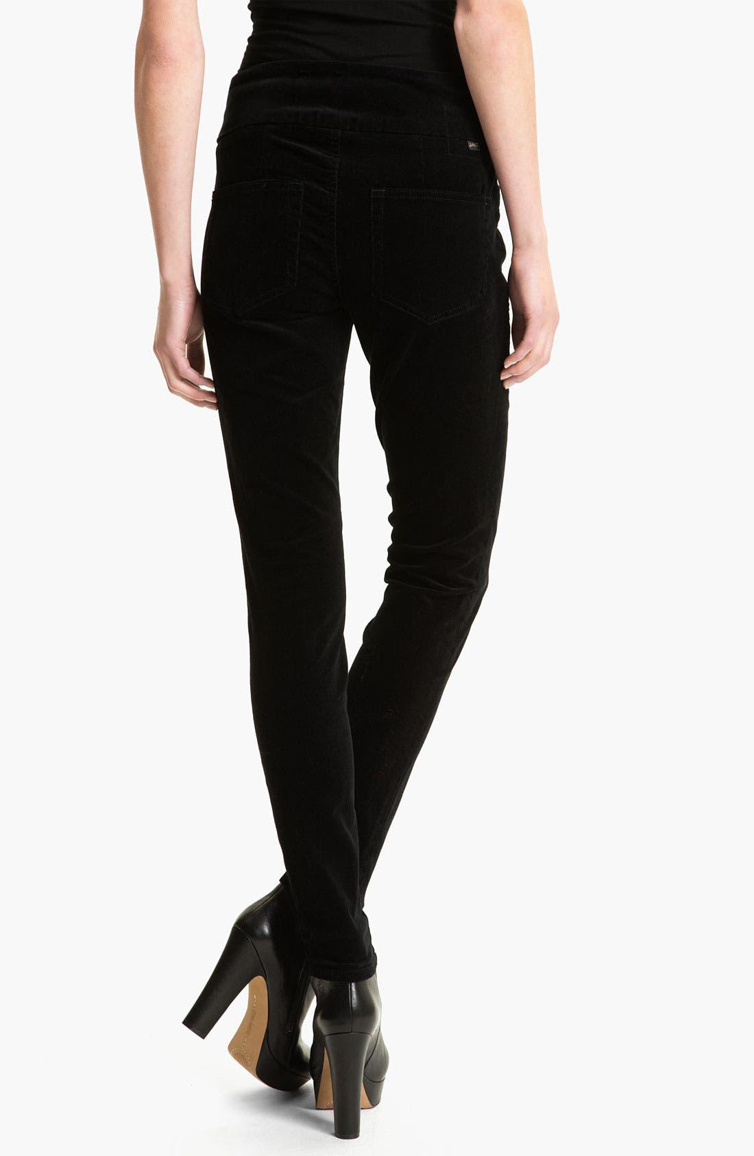 Alternate Image 2  - Jag Jeans 'Nikki' Corduroy Leggings (Petite)