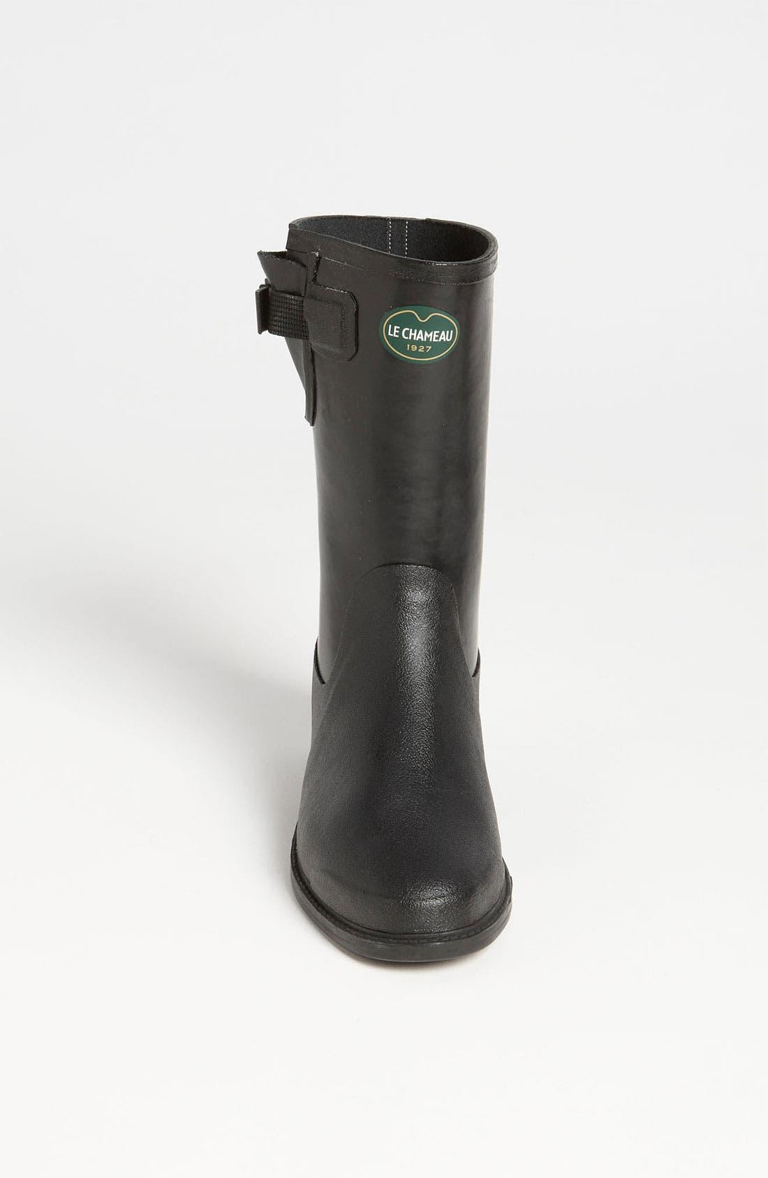 Alternate Image 3  - Le Chameau 'Cavaliere Low' Rain Boot (Women)