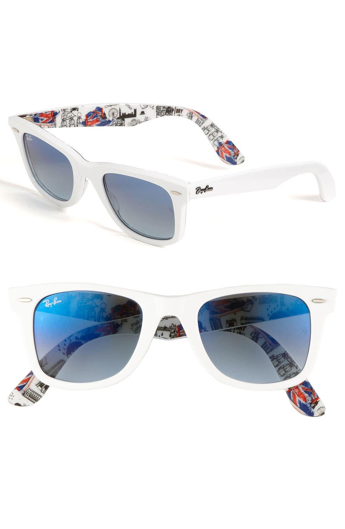 Alternate Image 1 Selected - Ray-Ban 'London Wayfarer' 50mm Sunglasses