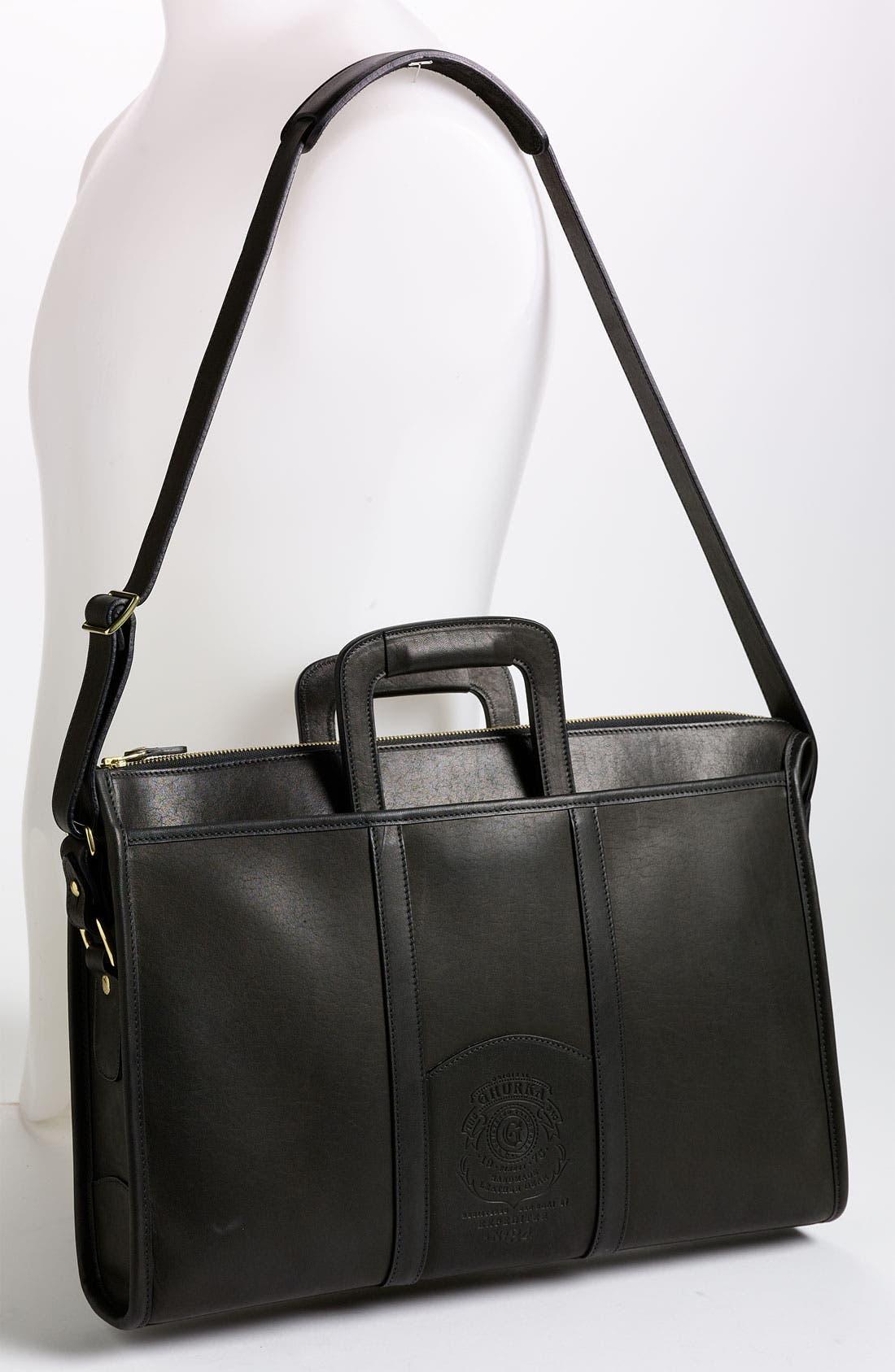 Alternate Image 2  - Ghurka 'Expeditor' Leather Briefcase