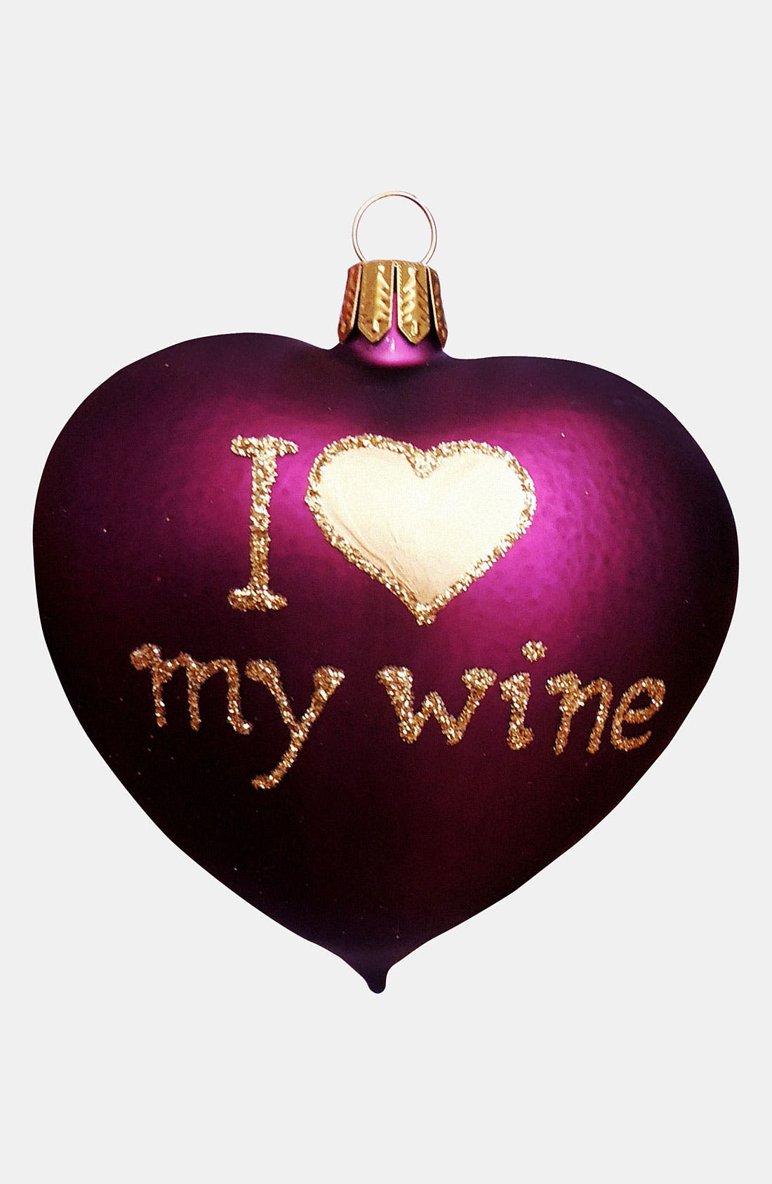 Alternate Image 1 Selected - Nordstrom at Home 'I Love My Wine' Ornament