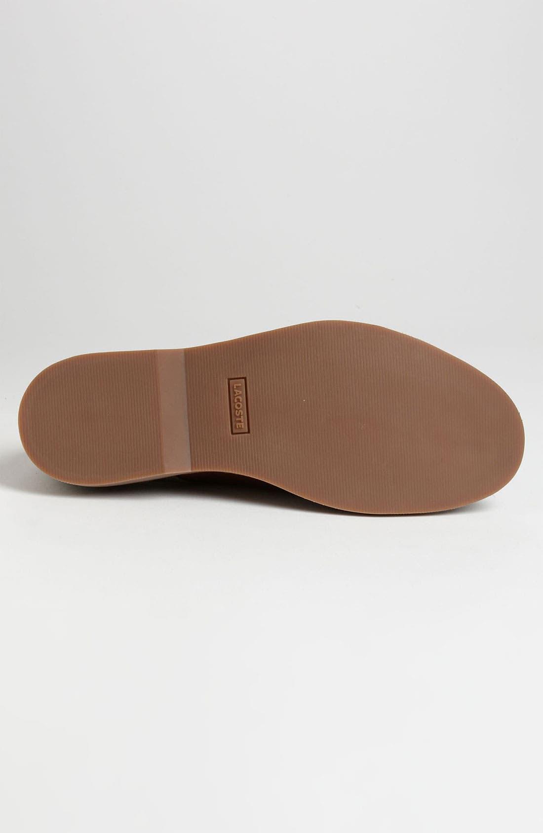 Alternate Image 4  - Lacoste 'Sherbrooke 5' Buck Shoe