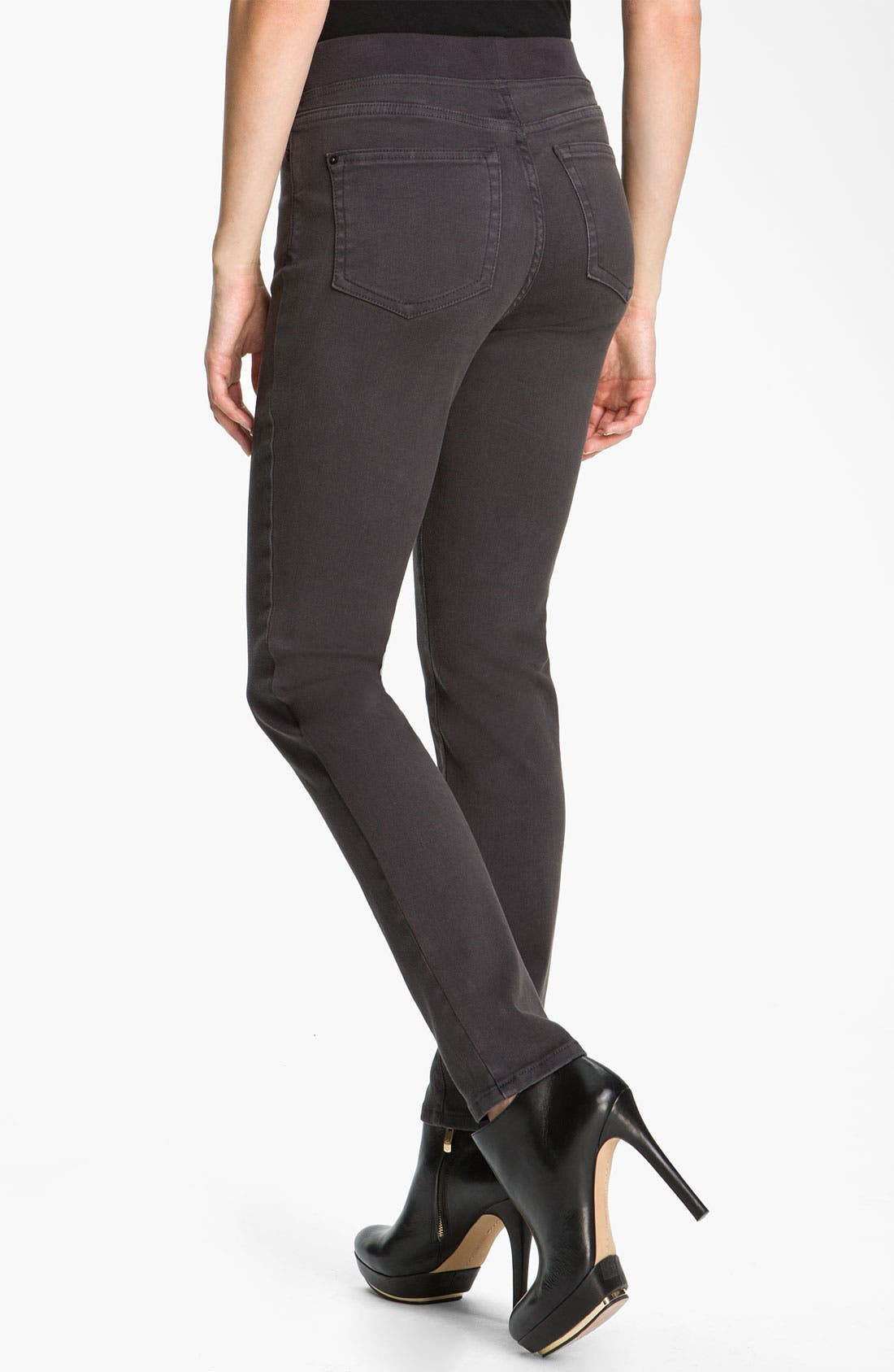 Alternate Image 2  - NYDJ 'Claire' Pull-On Denim Leggings (Petite)