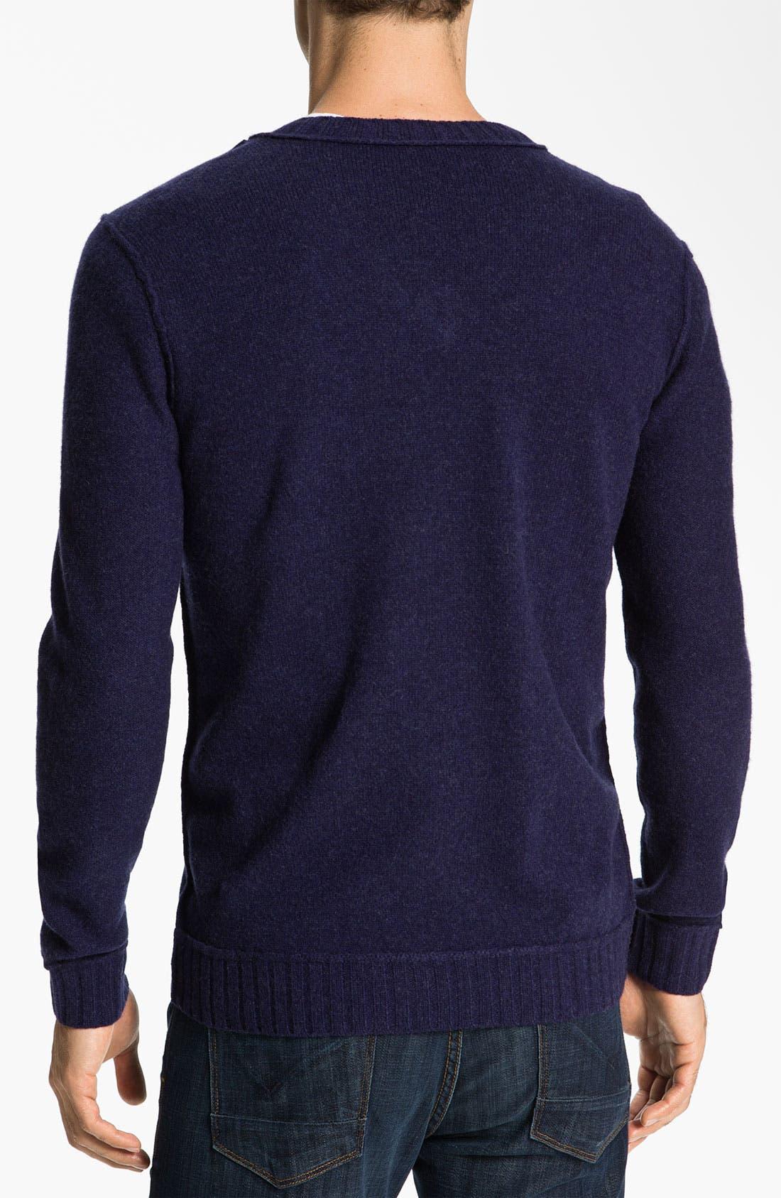Alternate Image 2  - BOSS Orange 'Kamil' V-Neck Sweater