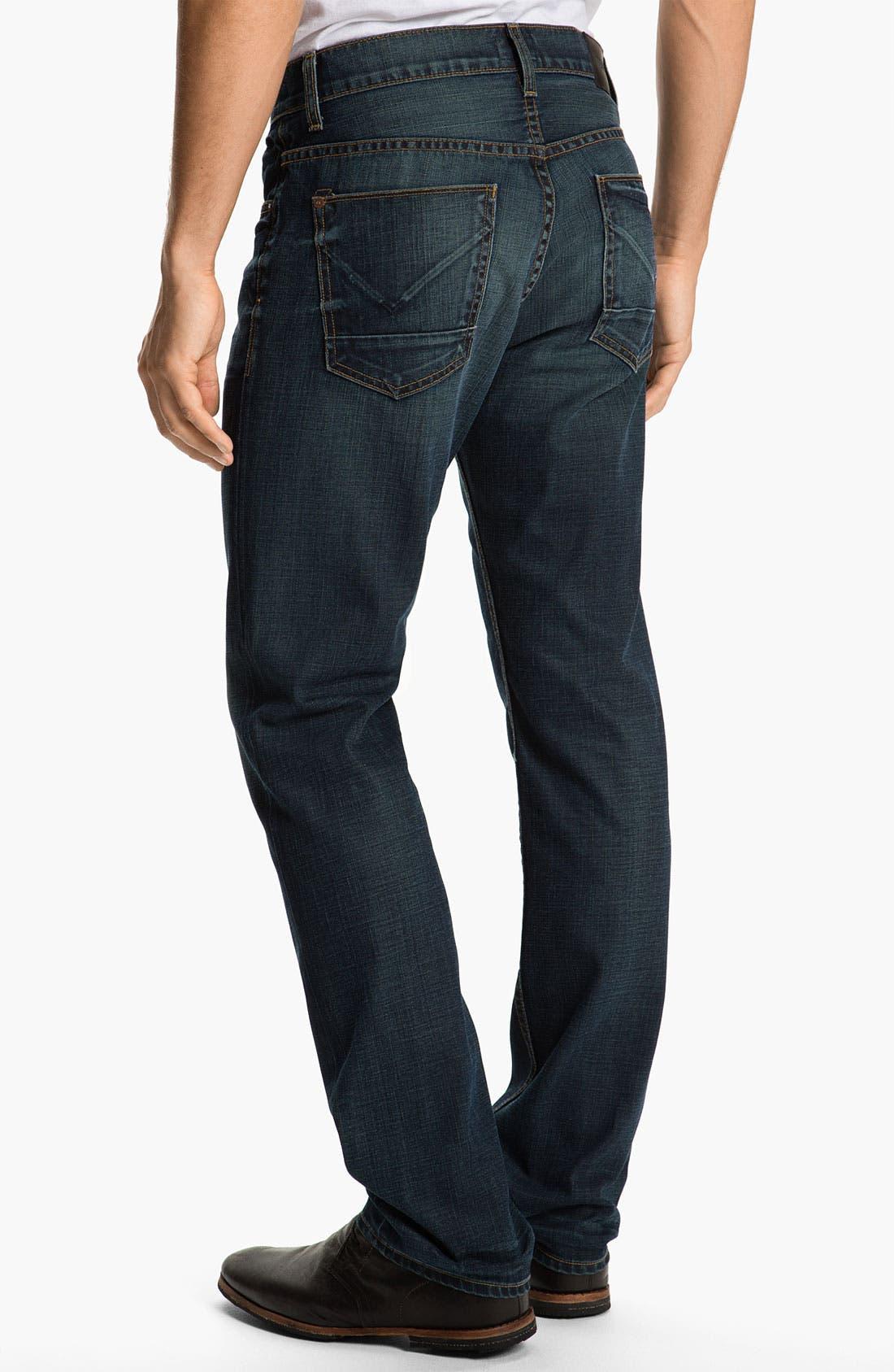Alternate Image 1 Selected - Hudson Jeans 'Dandy' Slouchy Straight Leg Jeans (Shovel)